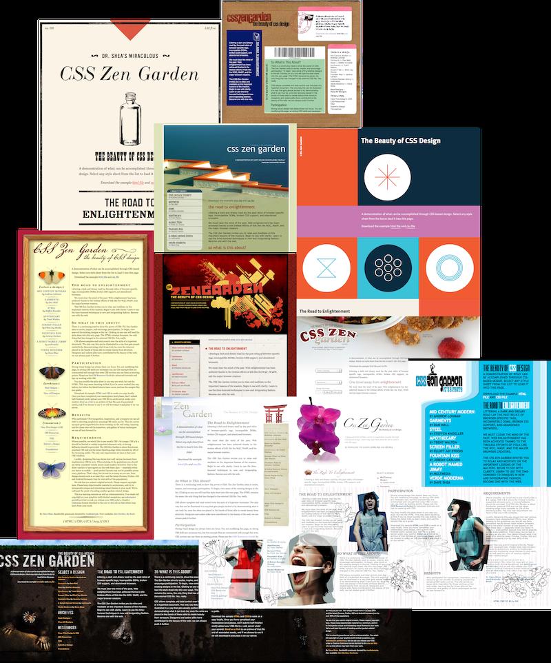 resilient web designchapter 2 - Css Zen Garden